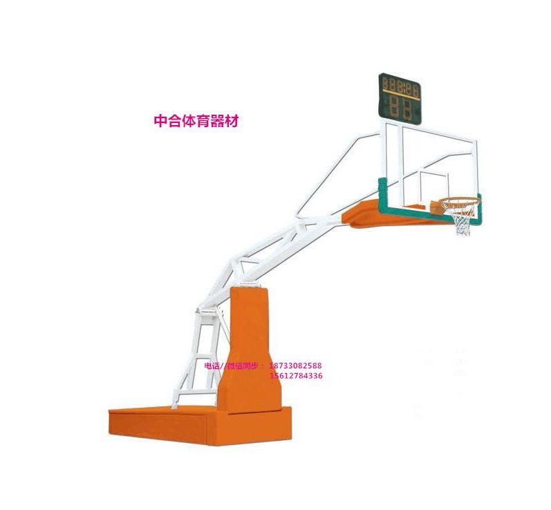 福建省宁德市(手动液压篮球架)安装效果图图片