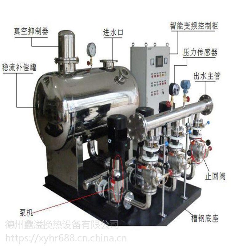 环保接管网二次增压供水设备 智能无负压供水设备 图纸
