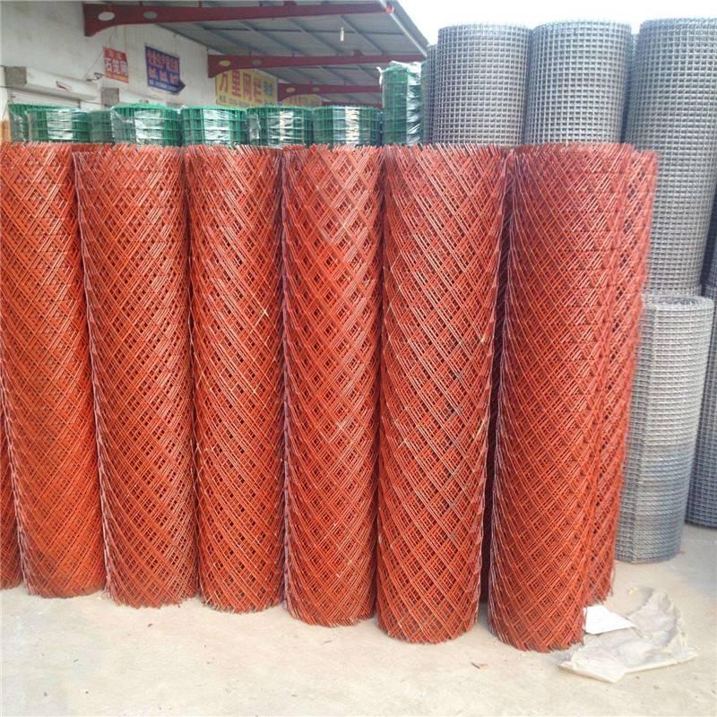 工业园区防护网 菱形围墙网 钢板网厂家