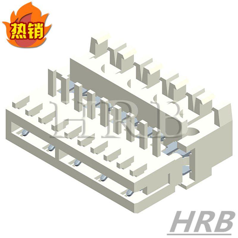 仿德国隆堡IDC刺破连接器 间距2.5MM线对板刺破端子 中国厂家HRB