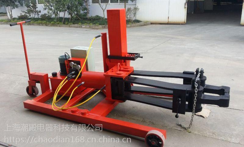 全自动升降液压拉马fyq-10是由移动小车,电动超高压泵站,千斤顶特制图片