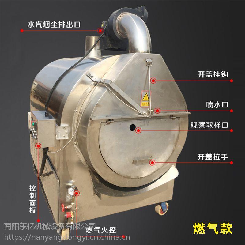 压榨香油炒芝麻机器 炒芝麻速度快效率高无污染 东亿专业炒芝麻机器15688198688