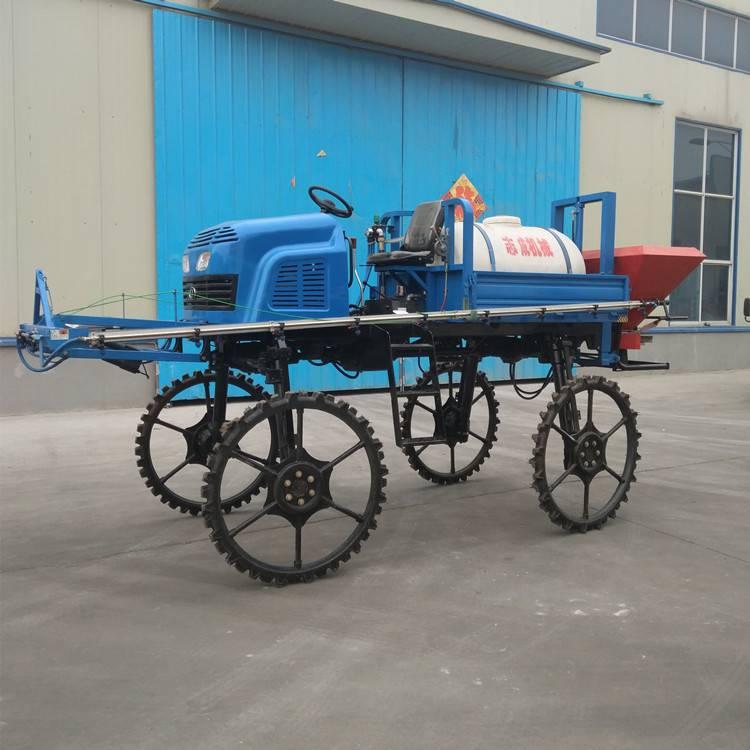 厂家供应柴油四轮喷雾器玉米小麦杀虫机500L农用自走打药车