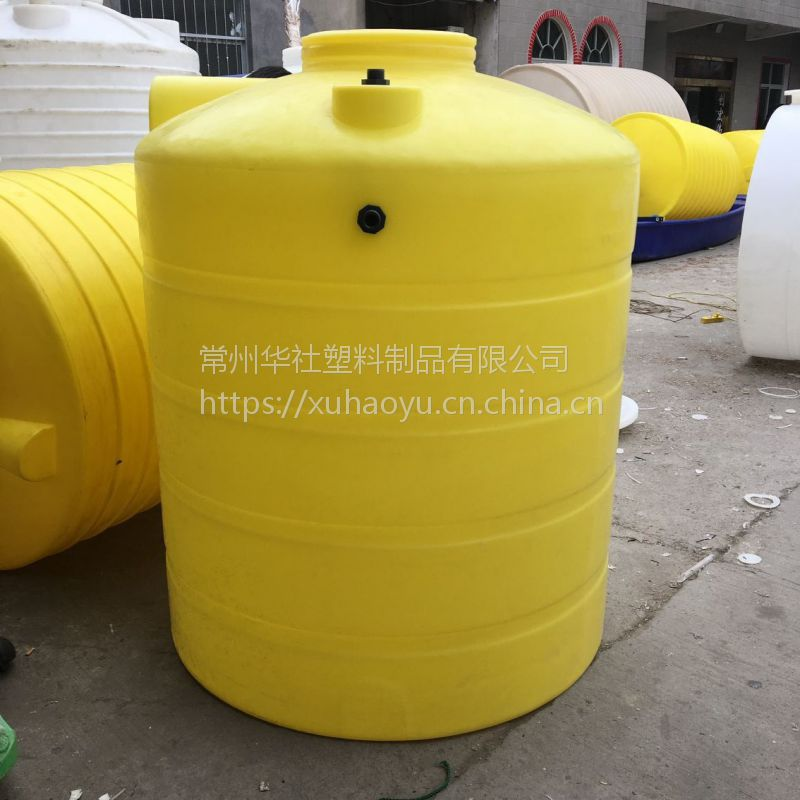 安徽500L塑料计量罐 防腐容器圆形加药箱批发
