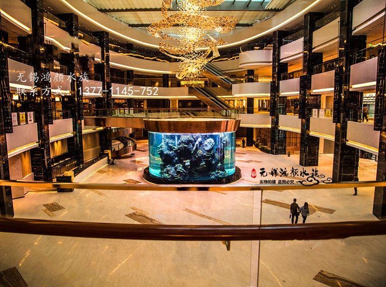 南通大型海洋馆鱼缸制作厂家亚克力鱼缸