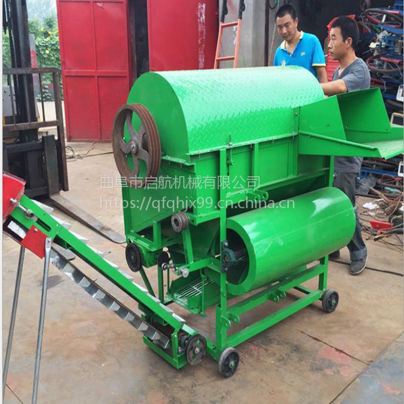濮阳市收果子的机器 启航家用采摘机 摘果子去秧机厂家