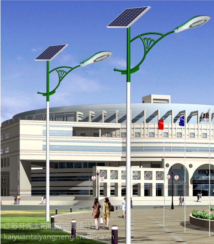 山东邢台7米40W旧灯改造太阳能路灯一套多少钱