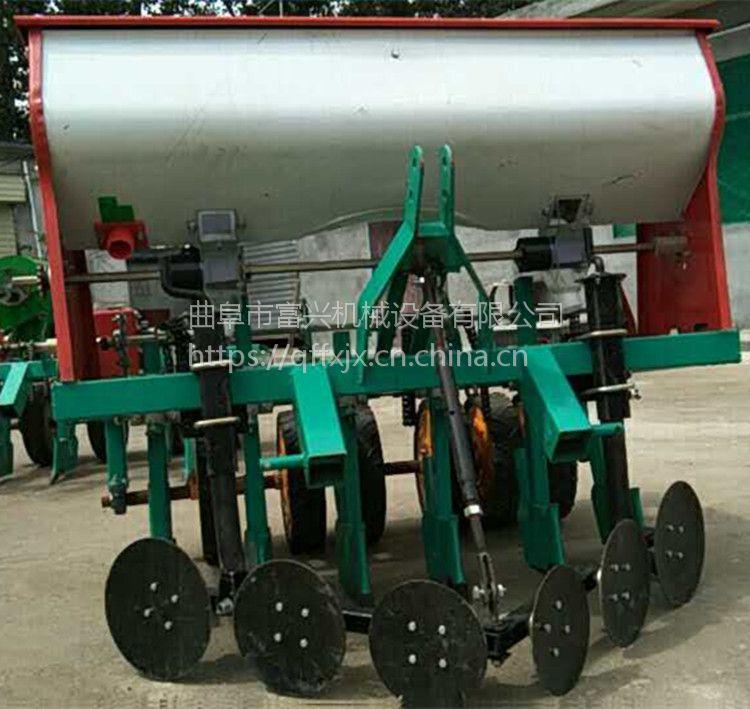 胡萝卜精播机 富兴玉米高粱大豆施肥播种机 谷子牧草精播机价格