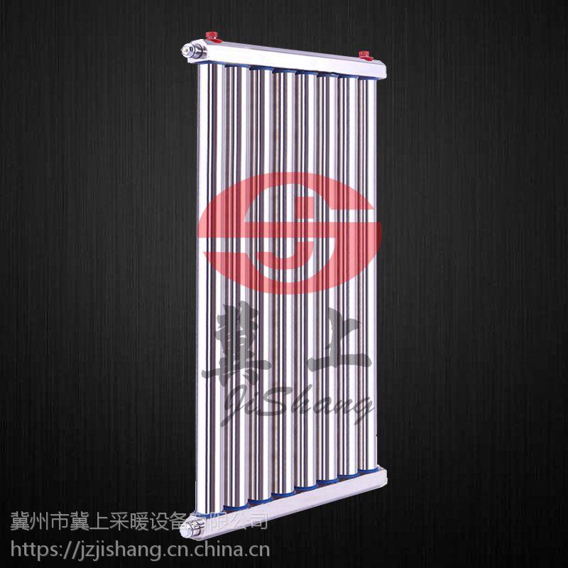 冀上不锈钢柱式换热器 储水式交换器 家用过水热