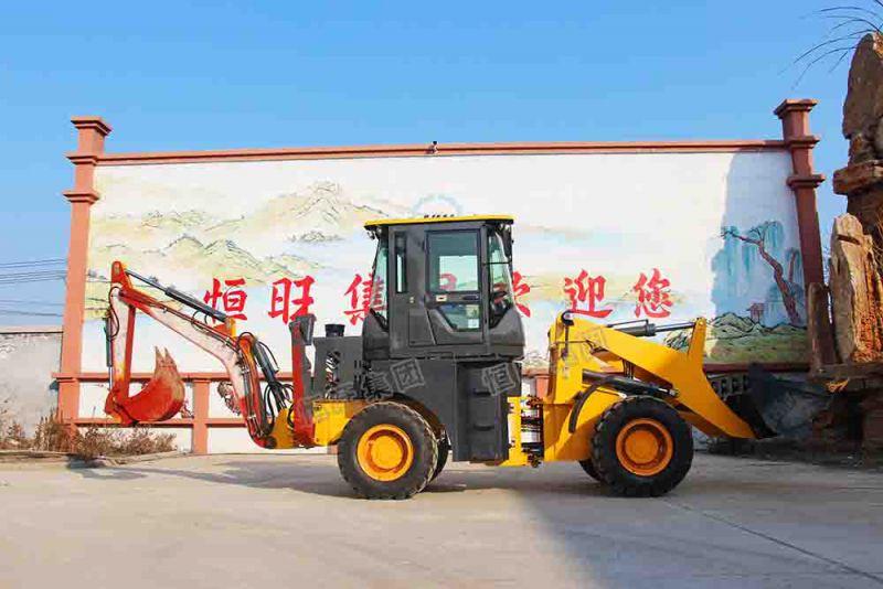 恒旺 83KW挖掘装载机 两头忙铲车参数价格 质保一年