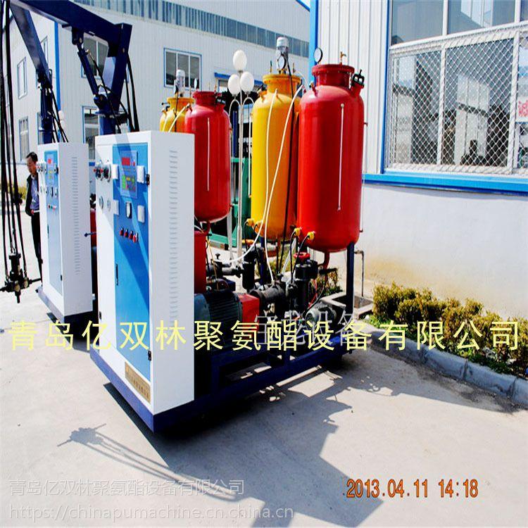 亿双林pu保温冷库车填充高压机械发泡设备