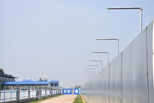乌鲁木齐圣安洁工地围墙喷淋系统