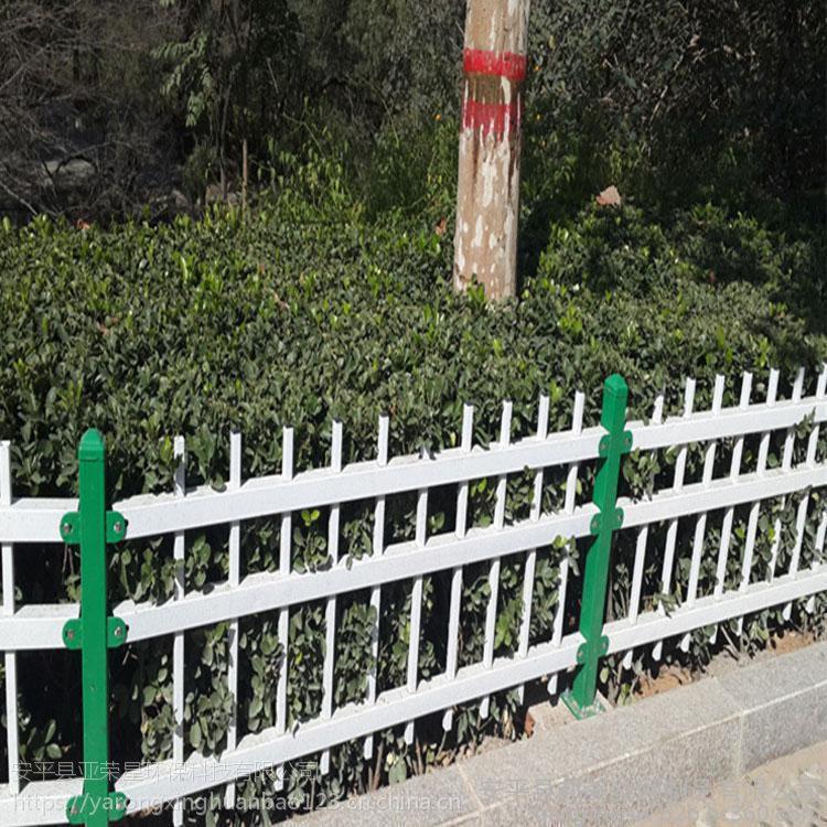 锌钢草坪护栏生产@铁艺绿化围栏@锌钢栅栏图纸设计@铁艺护栏