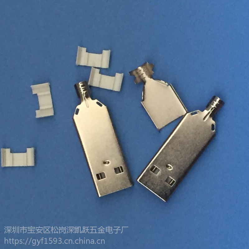 A公 2.0 加长款 四件式 白色胶芯 H=36.6 四件套 4P焊线式