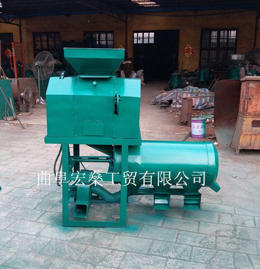 小型电动碾米机 砂轮脱皮碾米机