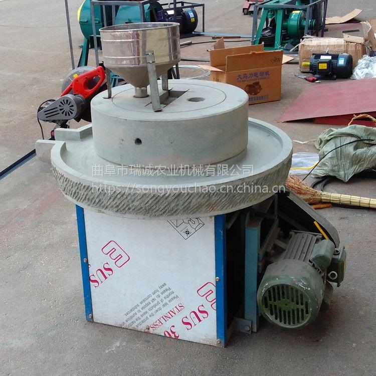 小型豆浆石磨机 原滋原味高效米浆石磨 厂家直销