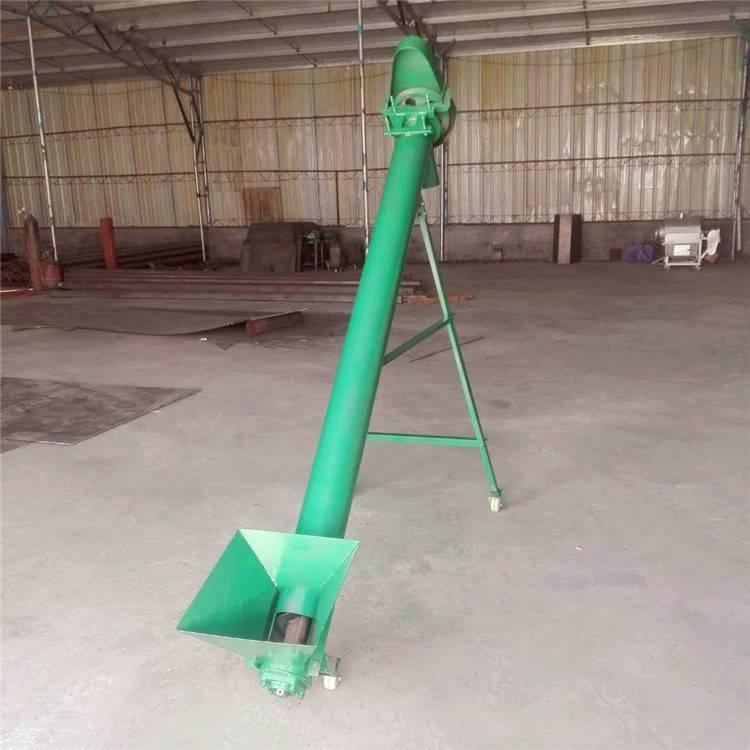 宏瑞牌多功能螺旋上料机 自动上料螺旋输送机 粉状饲料提升机