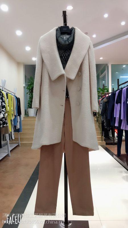 福佑门商厦批发市场品牌折扣女装奥特莱斯品牌折扣店创格冬装多种款式现货纯棉