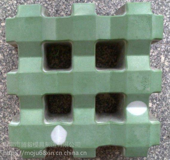 井字型草坪砖_草坪砖模具_腾毅制造