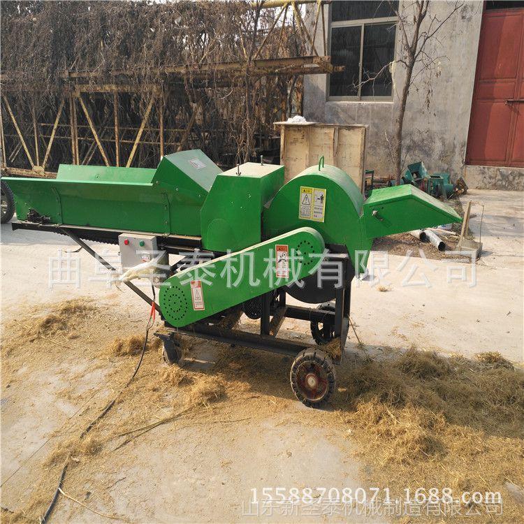 供应大型可移动湿秸秆揉丝机 大型不堵塞的湿玉米秸秆揉草机
