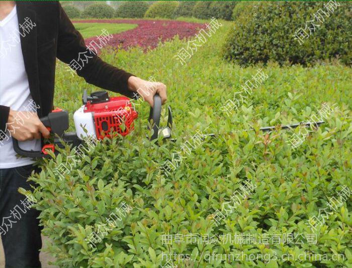 润众600宽幅节能绿篱机 黄杨冬青修剪绿篱机