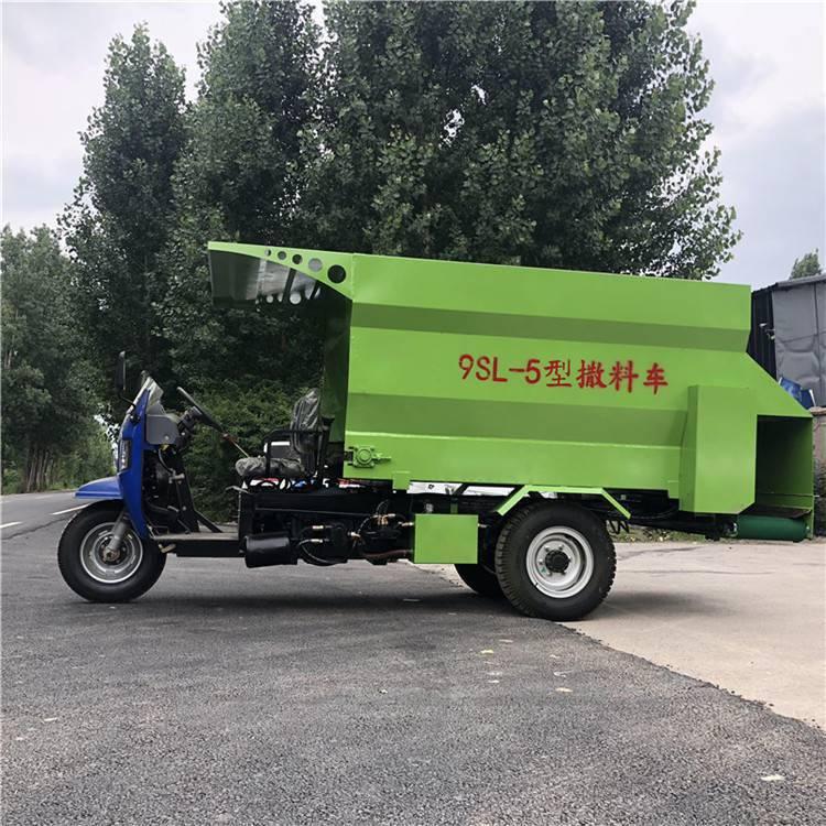 罗源县多种容积撒料车 润众 降低劳动成本撒料车