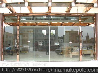武川感应玻璃平移门厂家,电动感应门上用的电机18027235186