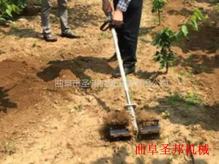 茶园汽油锄草松土机 背负式小型松土机
