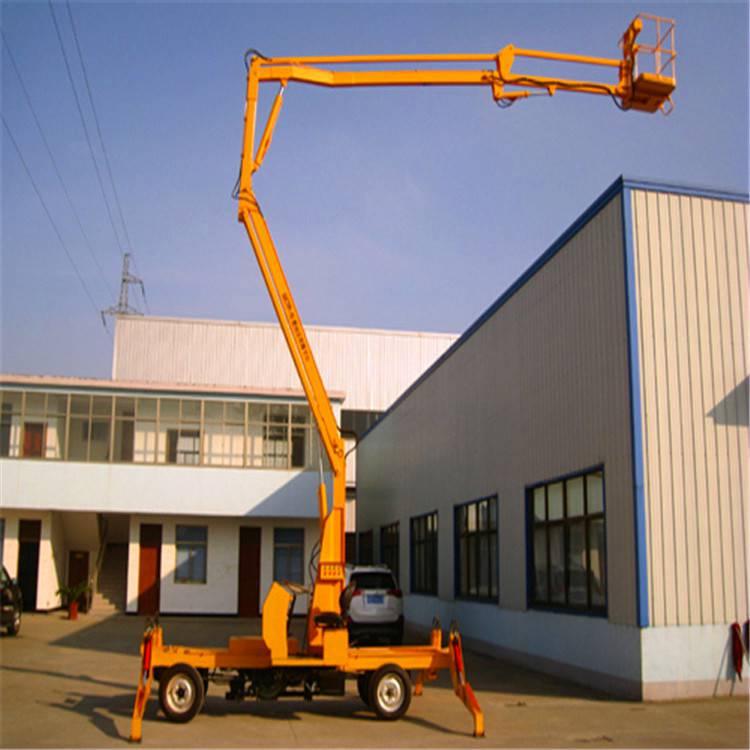深圳曲臂式高空作业平台哪有做/深圳曲臂式升降机坦诺供应