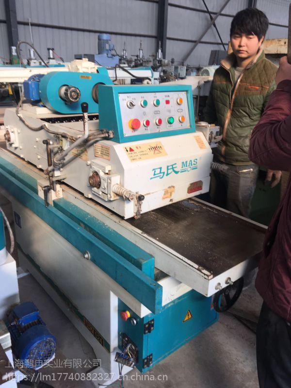 出售二手木工机械/长型制榫机/自动送料平刨/双面刨
