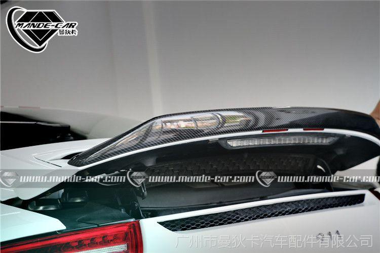 保时捷911carrera改装包围991升级碳钎维尾翼