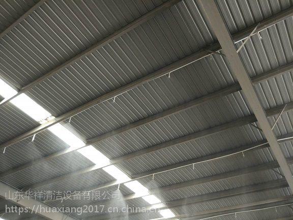 山东济南建筑工地围挡喷淋 围墙喷雾系统 供应厂家