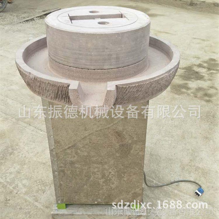 振德供应电动香油石磨机 新款电动石磨豆浆机 芝麻酱磨