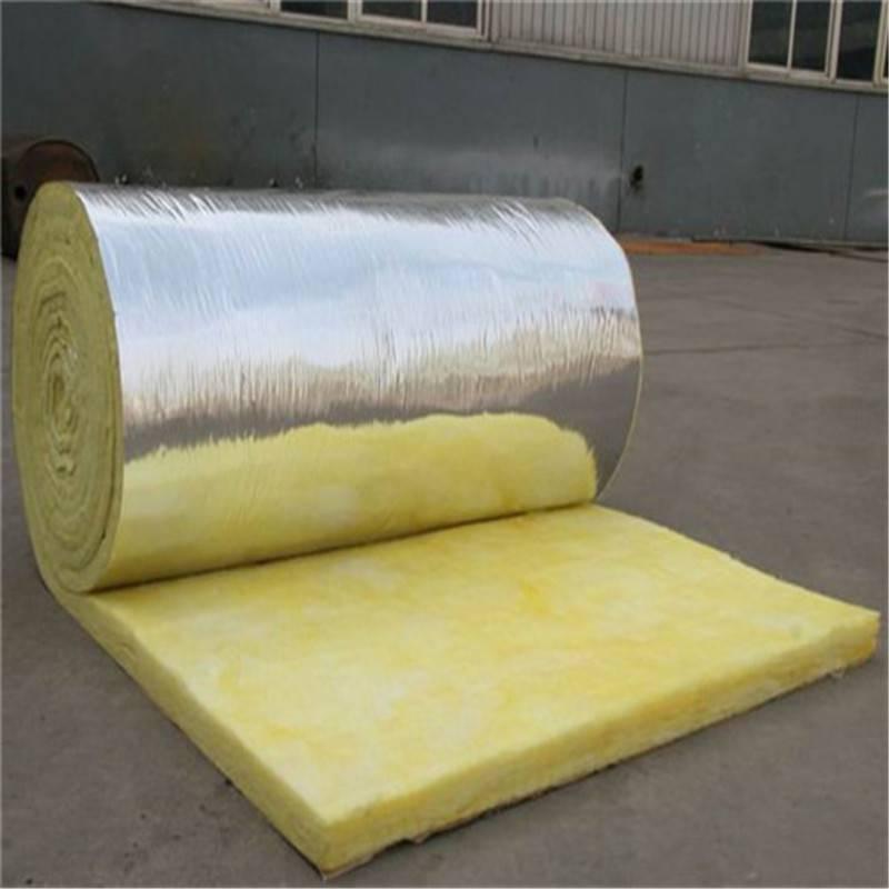 批发价耐高温玻璃棉卷毡 13公分外墙玻璃棉发货快