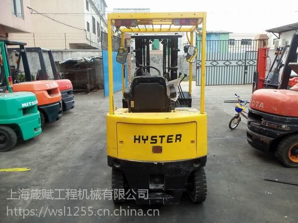 海斯特电动叉车 二手1吨蓄电池 杭州电瓶叉车批发