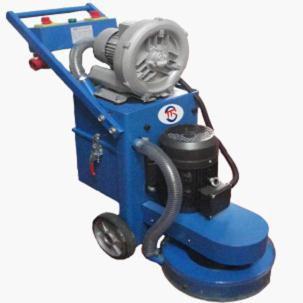 批发550型环氧地坪无尘研磨机 优质混凝土地面打磨机 旧地面翻新研磨机图片 日立电机 持久耐用