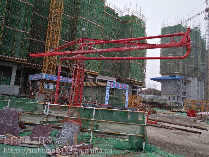 湖北宜城鑫旺十五米臂长自动散料布料杆经济实用
