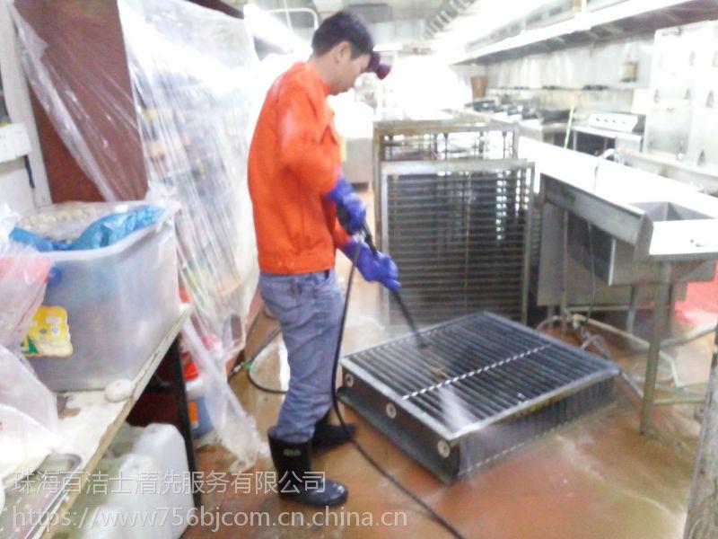 珠海厨房清洗、油烟罩清洗、油烟风管清洗、净化器清洗