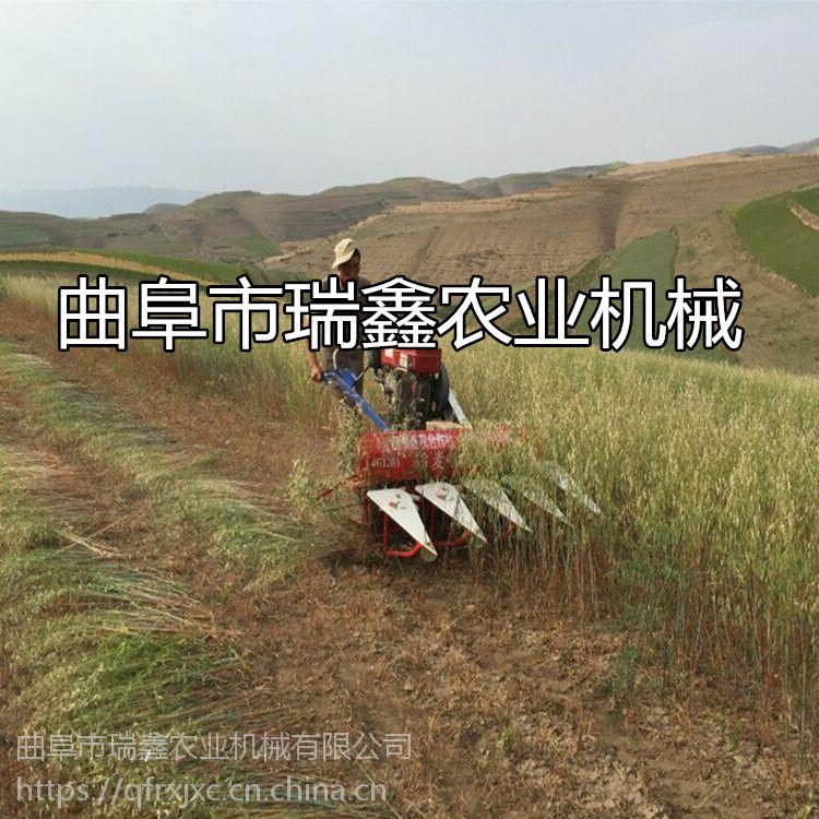 芦苇象草割晒机 油菜籽收割机 手推式辣椒收割机