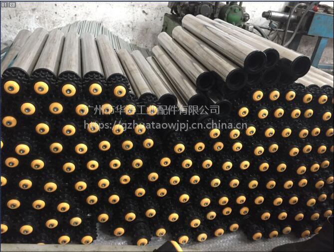 304材质堆积式滚筒加工不锈钢堆积式双齿轮滚筒厂家直销