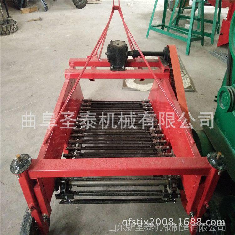 小型地瓜收获机 红薯马铃薯起获收果机 四轮配套收获机械