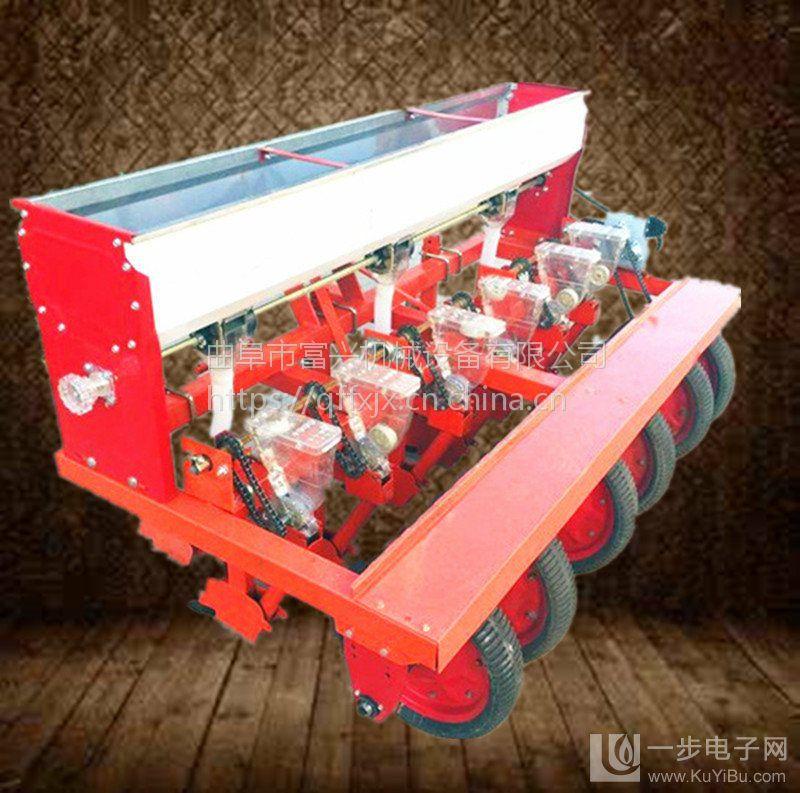 小麦豆类稻米玉米精播机 富兴蔬菜药材免间苗播种机 谷子施肥播种机型号价格