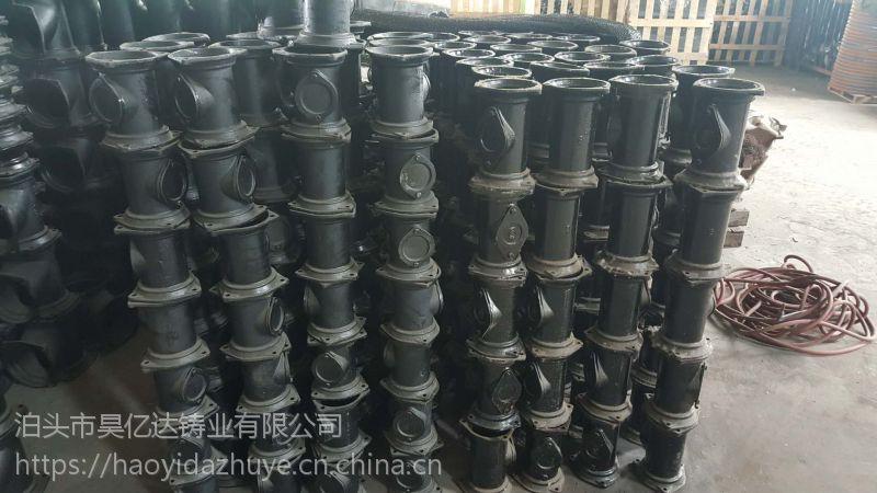 铸铁检查口 立检口 铸铁检查口 铸铁排水管件清扫口 铸铁立检口