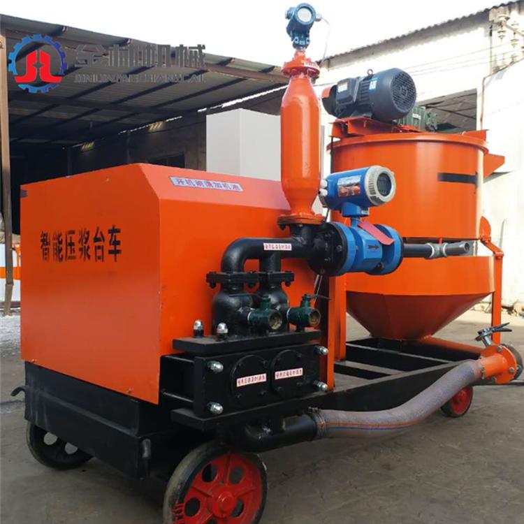济宁金林机械直销注浆台车 生产加工带模注浆一体机