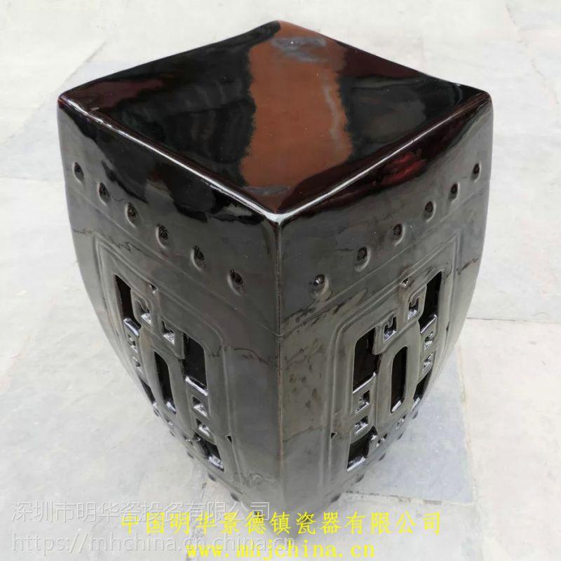 景德镇陶瓷 陶瓷凳子 景德镇瓷器 花瓶 陶瓷工艺品