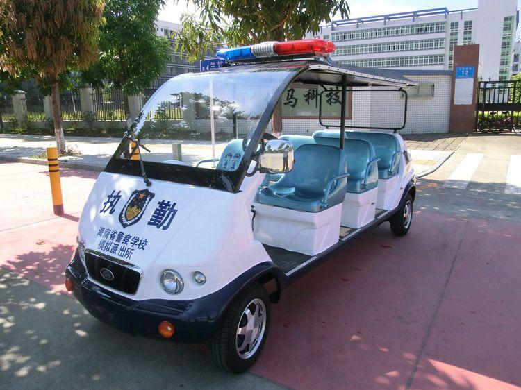 凯驰新款电动巡逻车可加货斗