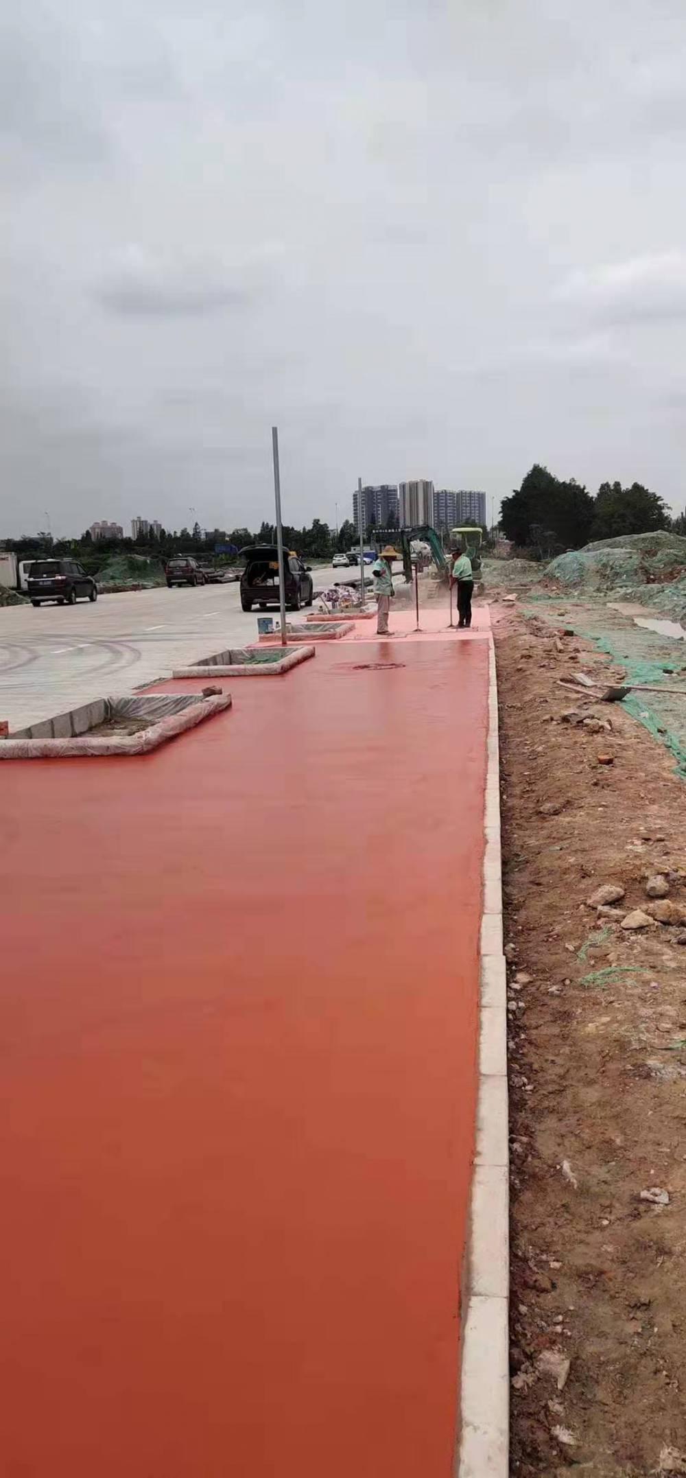 山东透水胶结料(交地)城阳区透水混凝土施工工艺