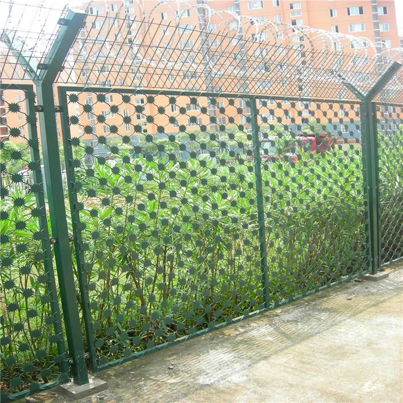 监狱围墙防护网@无锡监狱围墙防护网@监狱围墙防护网厂家