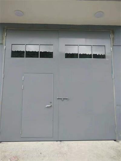 配电房门钢质大门带百叶钢质门工业钢门厂家