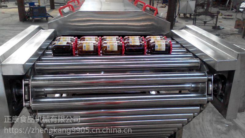 【诸城正康食品机械】全自动巴氏杀菌生产线 食品包装巴氏杀菌机